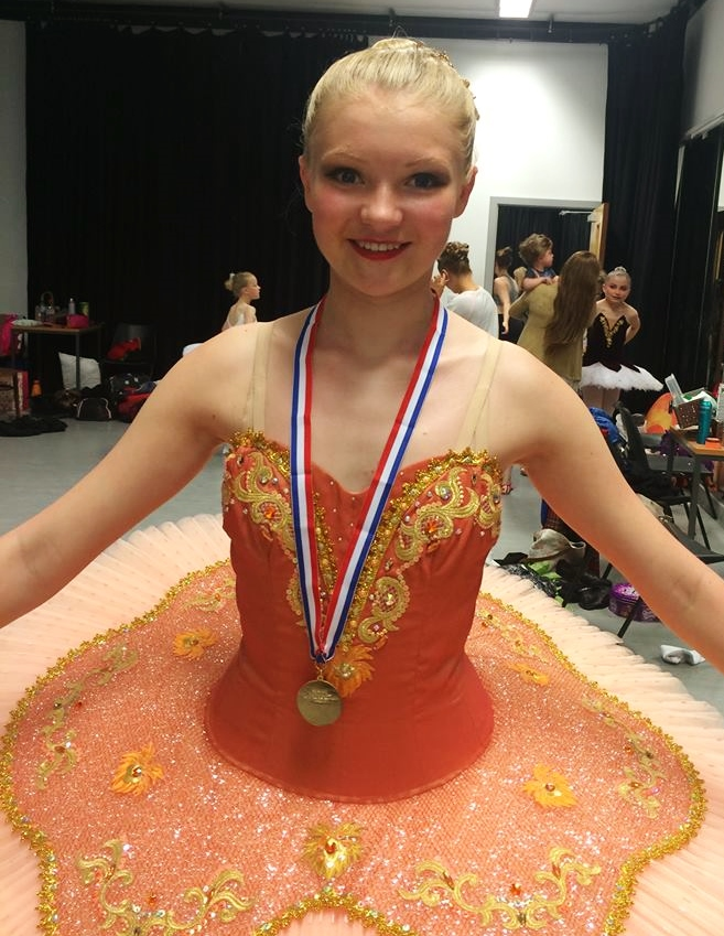 Lily Smith Junior Ballet Champion