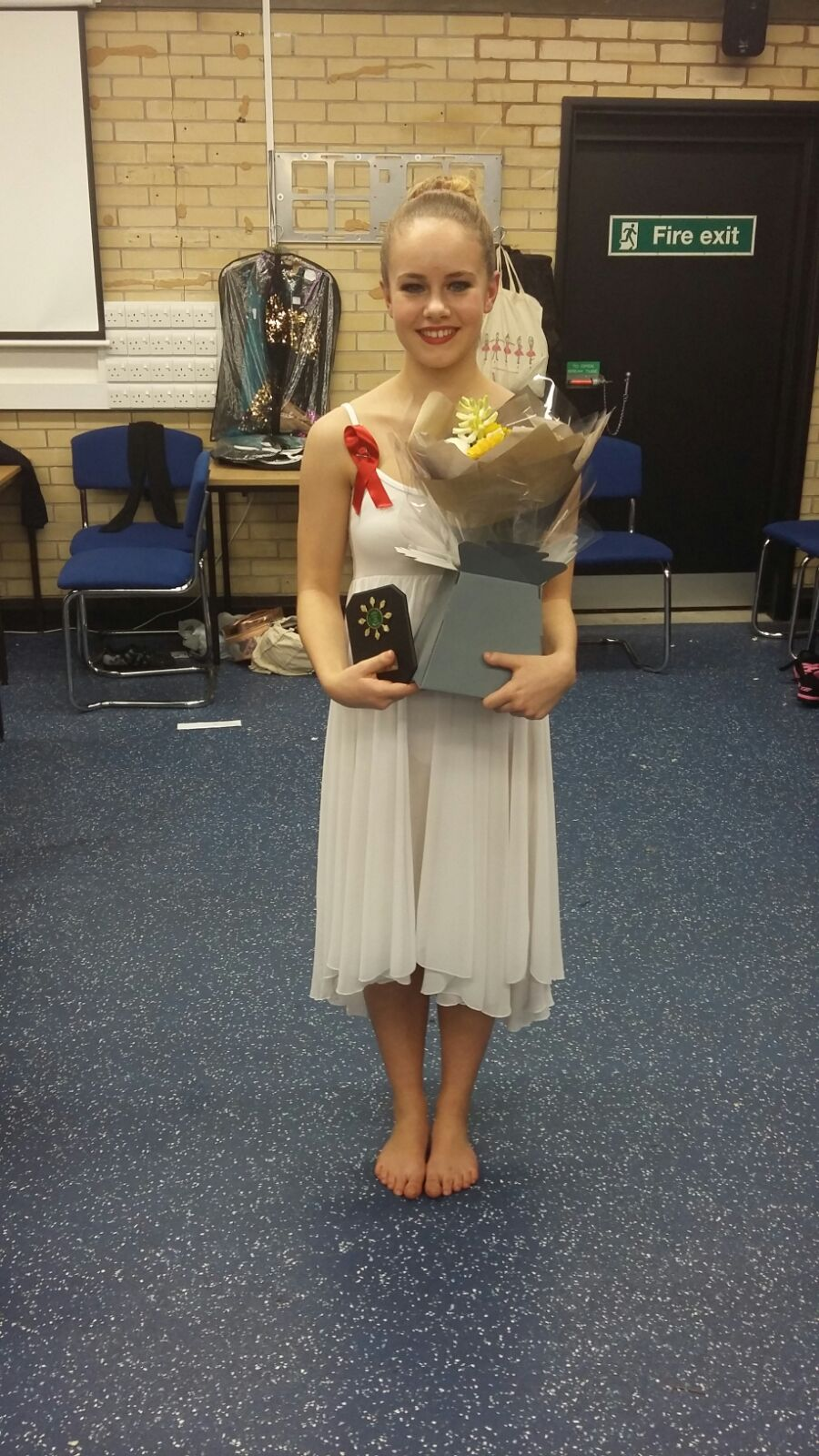 Emily Gardiner  Runner up in Miss Dance heat.