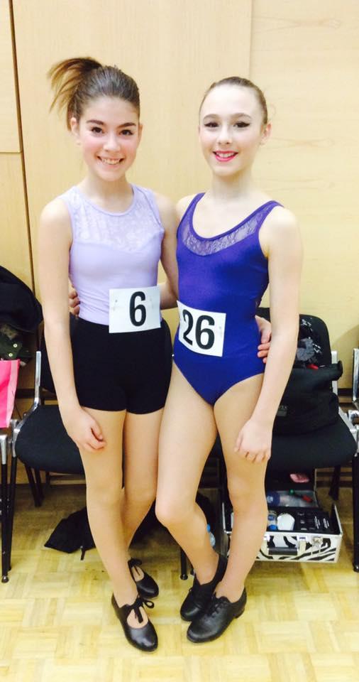 Kira and Chloe Tap Grades