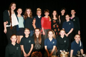 Cardwell  Theatre School winning the school trophy