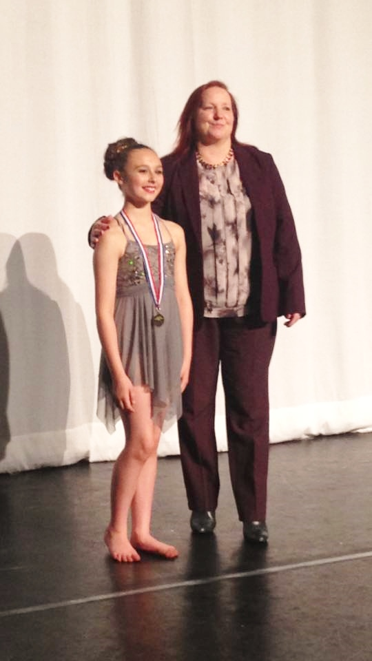 Chloe Radford Junior Modern Champion